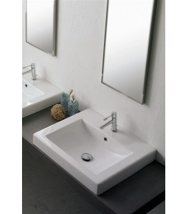Square lavabo/vasque 60