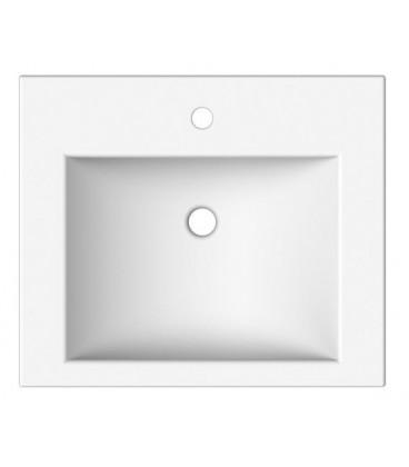 Square vasque 60 x 51 cm
