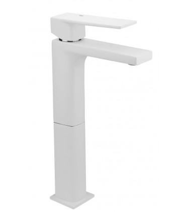 Mitigeur lavabo haut blanc KALA