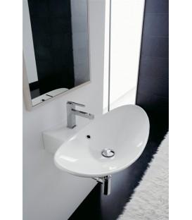 Zefiro vasque/lavabo à poser ou suspendu 50R