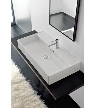 Teorema vasque/lavabo à poser et suspendu 100R