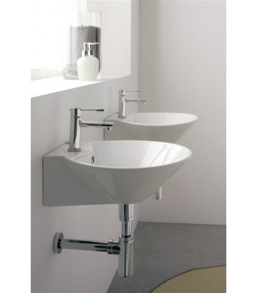 Thin-Line CONO vasque/lavabo à poser ou suspendu