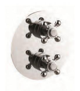 Thermostatique à encastrer avec coupure d'eau 1 à 3 voies CLASSIQUE
