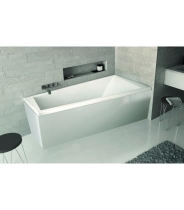 Tablier Novalu de baignoire asymétrique