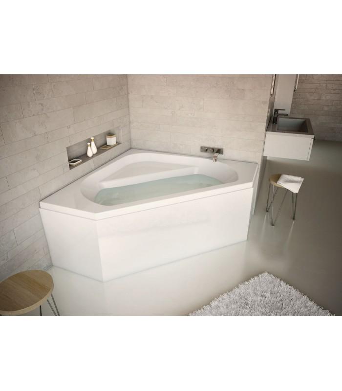 tablier d 39 angle u novalu wellness aquarine pour sanitaires. Black Bedroom Furniture Sets. Home Design Ideas