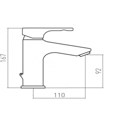 Mitigeur lavabo TENDER