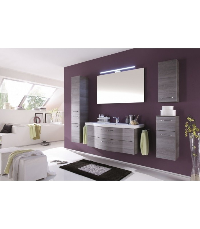 meuble suspendu salle de bain argona 122 pelipal france pour sanitaires. Black Bedroom Furniture Sets. Home Design Ideas