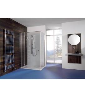 Espira porte pivotante avec paroi fixe latérale