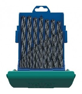 Coffret de forets métaux tige cylindrique