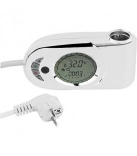 Regulation de temperature INFRA pour radiateur SdB max 2000W , blanc
