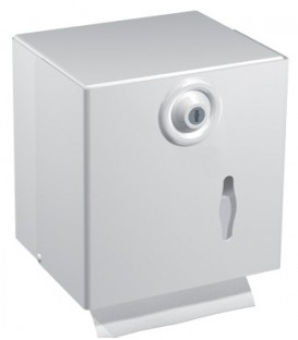 Distributeur de Papier Hygiénique Feuille et Rouleau PH MIXTE METAL