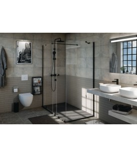 Colonne de douche thermostatique Daily' Color noir ALTERNA
