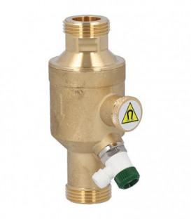 """Separateur de magnetite Easyflow p. circuit de chauffage Easyflow DN20 DN25(1"""")male, L:130mm"""