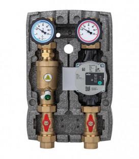 """Kit Circuit de chauffage Easyflow DN25(1"""") separateur de magnetite non-melange, pompe Wilo 25/6 SC"""