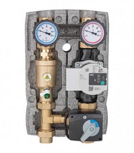 """Kit Circuit de chauffage Easyflow DN25(1""""), separateur de magnetite pompe et moteur melangeur"""