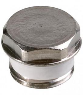 """Bouchons d'obturation en laiton nickele, joint conique en silicone 1/2"""""""