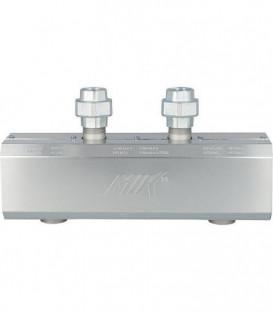 """Découpleur hydraulique HW 60/125 isolation 25mm incluse raccords DN25 (1"""") femelle"""