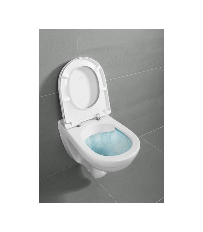 pack wc suspendu viconnect cuvette sans bride villeroy boch pour sanitaires. Black Bedroom Furniture Sets. Home Design Ideas