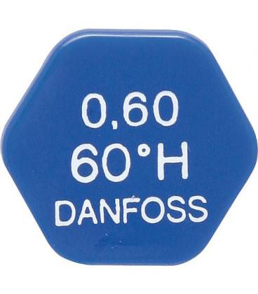 gicleur Danfoss 0,60/80°H PL: 2252