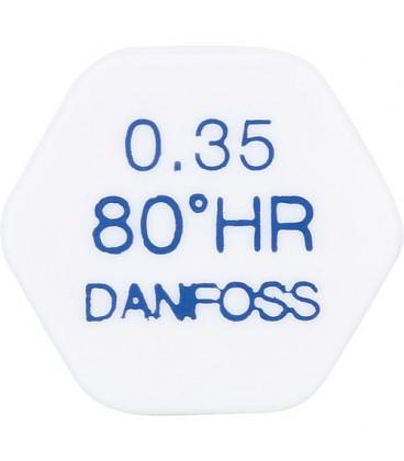 Gicleur Danfoss 0,40/80°HR