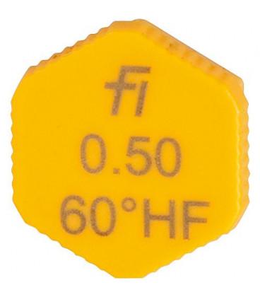 Gicleur Fluidics Fi 0,50/70°HF