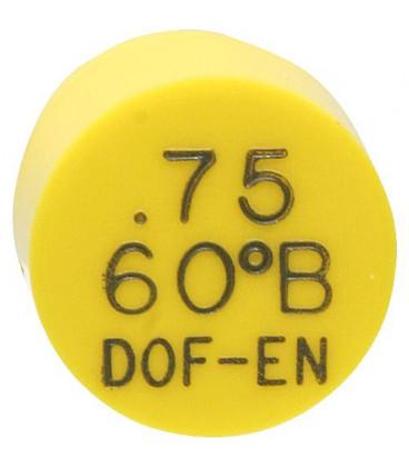 Gicleur Del-o-Flo 0,75/80°B