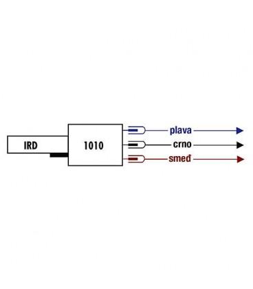 Satronic IRD1010 Fioul blanc éclairement de côté à gauche