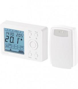Thermostat d'ambiance radio type WPT R thermostat avec récepteur prog. hebdo., version pile