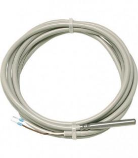 JUMO Capteur de temperature PT 100 Plage de mesure -5...80°C Longueur 2500 mm PVC