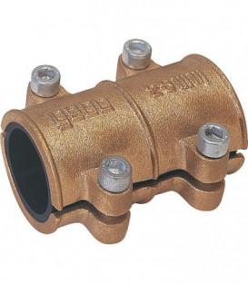 Collier d'etancheite en laiton 64mm pour eau PN 10 jusqu'a 90°C selon DIN 1786