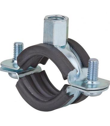 Collier d'attache galva pour tuyaux FRS Plus 133-141 plage de serrage 133 - 141 mm