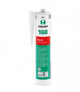 Masse d´étanchéification plastoélastique Acryl 160 blanc pour les joints 310ml
