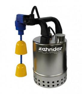 Pompe submersible eaux sales inox modele E-ZW 65 KS avec flotteur compact