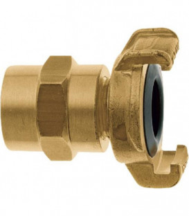 """Geka XK plus piece de tuyauterie pour eau potable 1/2""""-13 mm, laiton"""