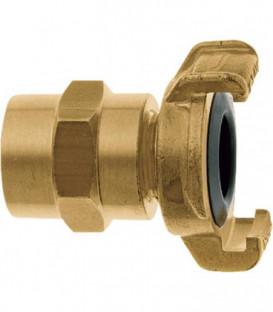 """Geka XK plus piece de tuyauterie pour eau potable 3/4""""-19 mm, laiton"""