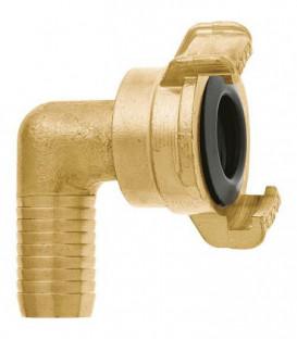 """GEKA plus section de tube coude """"2000"""" 90°, 1/2""""-13mm, MS, pivotant"""