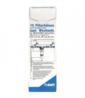 """Tissu de filtre de rechange 3/4"""" - 11/4"""" pour filtre protecteur/universel emballage 10 pcs"""