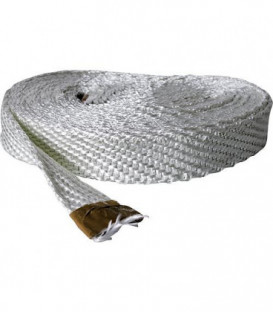 Ruban textile sans amiante 100x3 mm fibre de verre emballage 10 metres