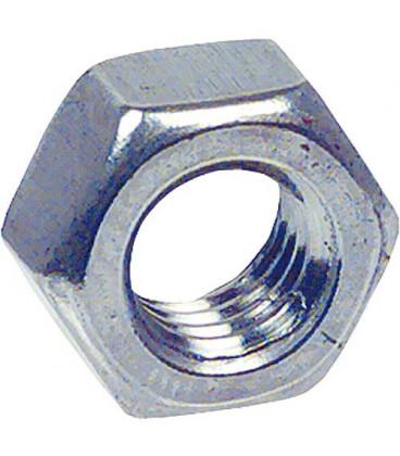 Ecrou hexagonal A2 DIN 934 M 6, UE 100 pcs