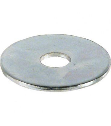 Rondelle zinguée Dim 5,3 x 20 x 1,25 mm Emballage 100 pcs