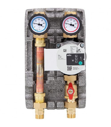 "Set circuit de chauffage Easyflow DN20(3/4""), non-melange, Wilo Para 15/6 SC"
