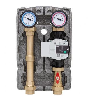 "Kit circuit de chauffage Easyflow DN25(1""),non-melange, Wilo Para 25/6"