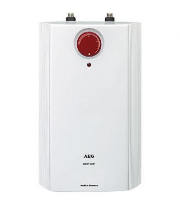 Petit chauffe-eau AEG électrique 5L pour montage sous lavabo Huz 5 Drop Stop BASSE PRESSION