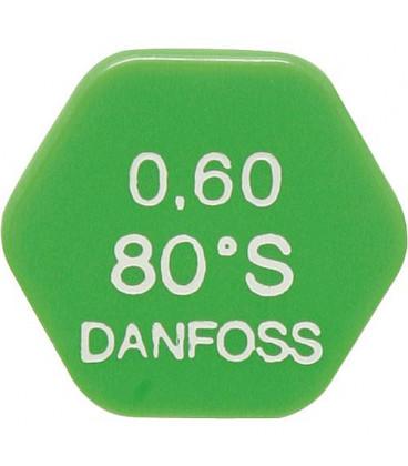 DASLE 007 58 gicleur Danfoss 0.75/80°S