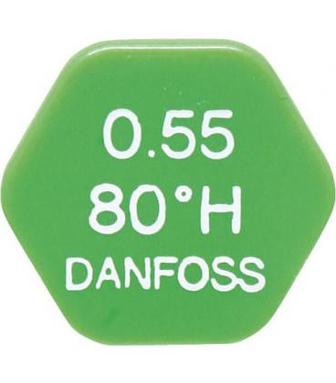 DAHLE 005 58 gicleur Danfoss 0.55/80°H