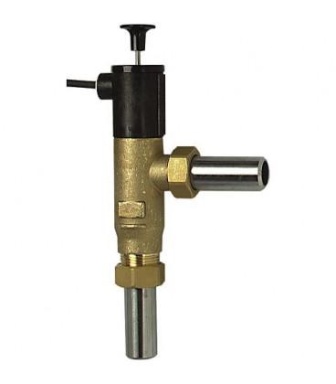 Sonde pour securite d insuffisance d eau laiton, avec raccord a souder DN 20