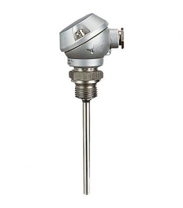 Thermometre de resistance a vis +tete de raccordem.,sonde 6x50mm Temp. d utilisation -50 - 400 C°