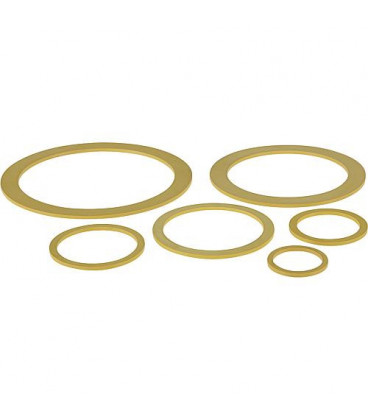 Joint jaune pour flexible ondule DN 20