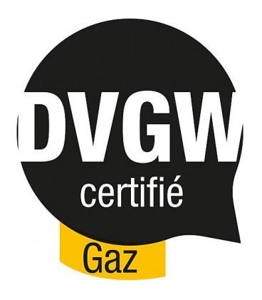 Raccord pour compteur a gaz DN20 x G4