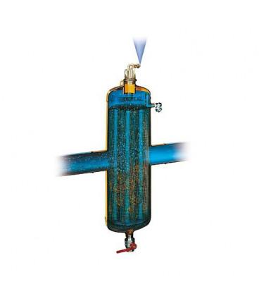 """Dégazeur et désemboueur Spirocombi avec aimant MB3 DN50 (2"""")fem, 110°C, 10 bar"""